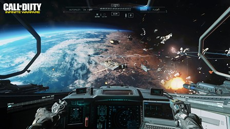 COD IW_E3_Ship Assault Space Combat_WM