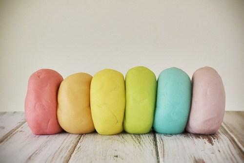 Homemade Jello Playdough from Flickr via Wylio