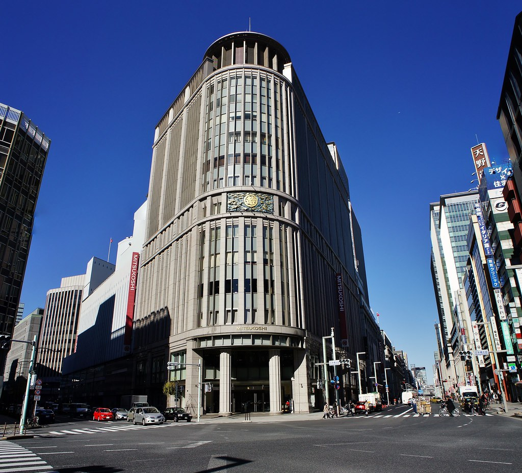Mitsukoshi Department Store at Nihonbashi