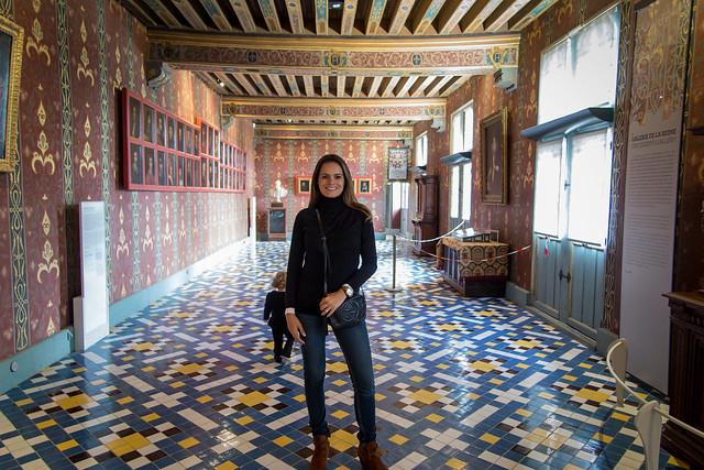 Adriana at Chateau de Blois