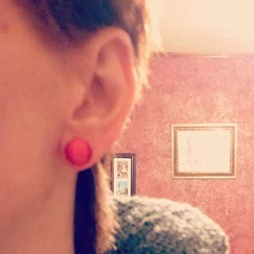 1941 Wonder Woman earrings