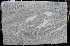New Kashmir White Polished Granite Slab