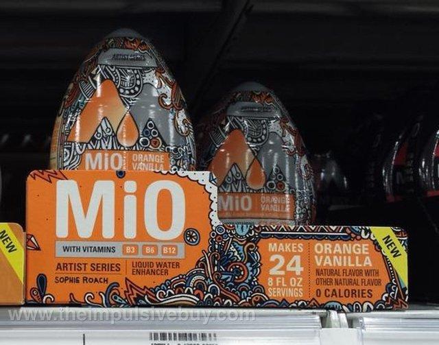 MiO Orange Vanilla Liquid Water Enhancer