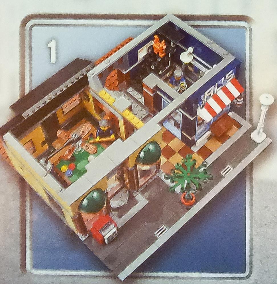 10246 Detectives Office Premiers Visuels Hoth Bricks