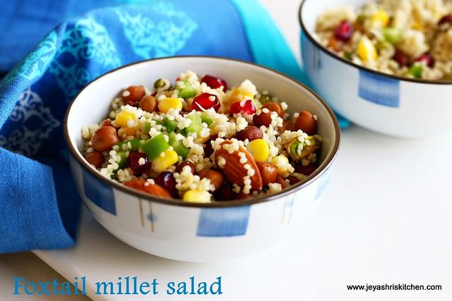 thinai-salad