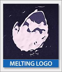 Melting Logo Reveal