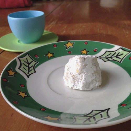 a russian tea cookie for a tea party