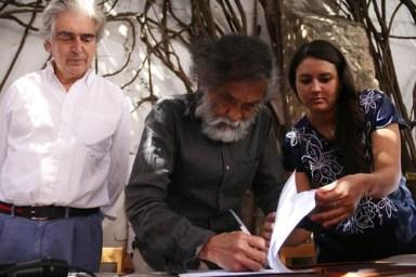 Toledo culmina donación del Iago; multiplicarlo, deber del INBA