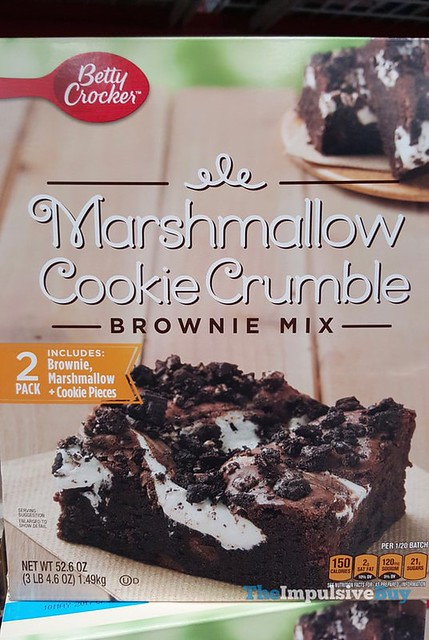 Betty Crocker Marshmallow Cookie Crumble Brownie Mix