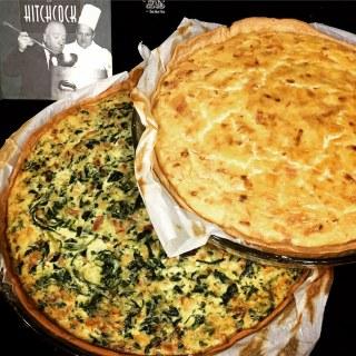 El plato preferido de Hitchcock era la Quiche Lorraine