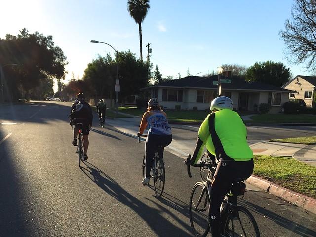 LA Wheelmen Ride to Santa Anita Canyon