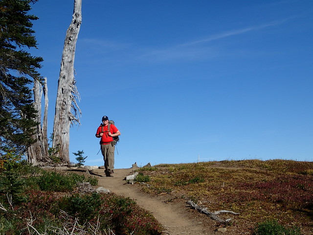 Me On The High Divide Trail