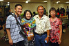 """Newly minted electrical engineer May Chen takes a photo with family after the 2016 Spring College of Engineering Convocation at the Neil Blaisdell Arena on May 13, 2016.  For more photos go to: <a href=""""https://www.flickr.com/photos/eaauh/sets/72157668405830766"""">www.flickr.com/photos/eaauh/sets/72157668405830766</a>"""
