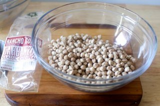 soak your chickpeas, or use canned