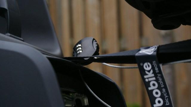 Bobike fietsstoeltje slot