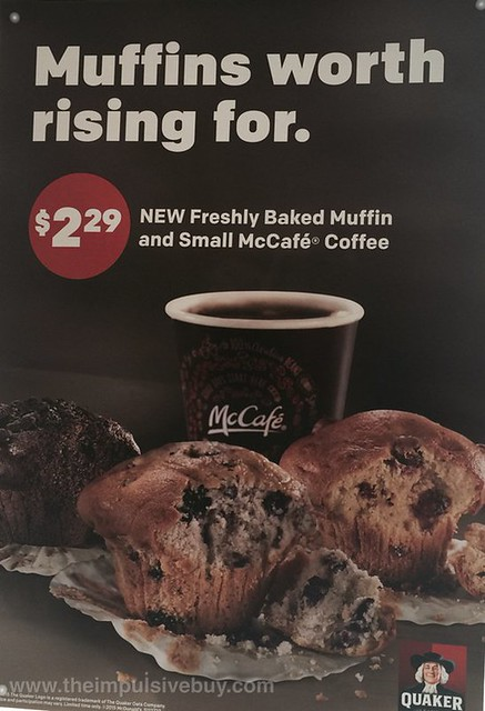 McDonald's McCafe Fresh Baked Muffins by Quaker 2