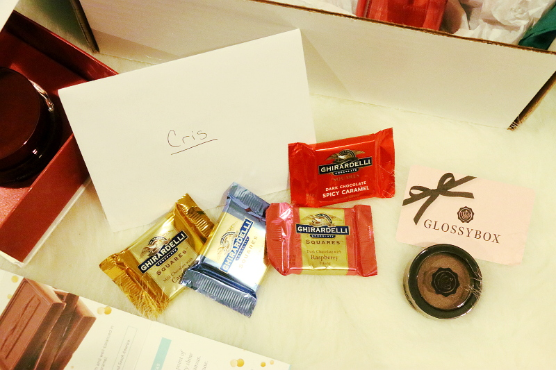 SheSpeaks-Unboxed-glossybox-ghirardelli-chocolates-6