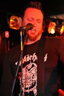 Simon Haddock of Trucker Diablo at Diamond Rock Club, March 2015
