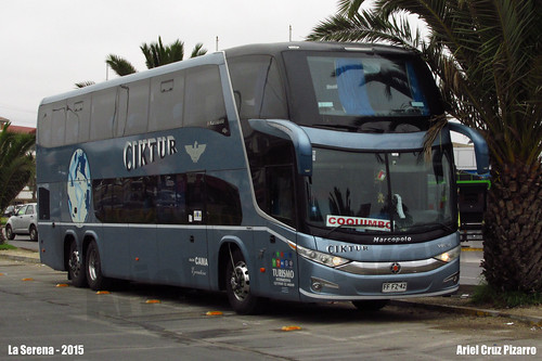 Ciktur - La Serena - Marcopolo Paradiso 1800 DD G7 / Volvo (FFFZ42)