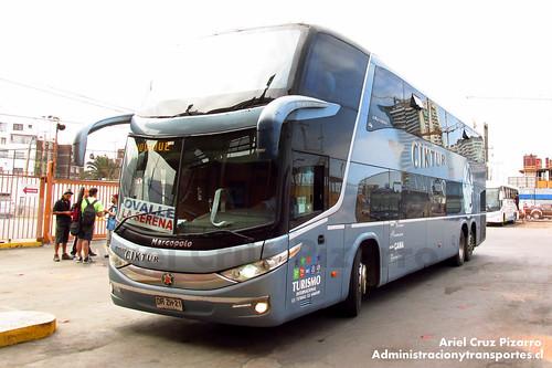 Ciktur - Iquique - Marcopolo Paradiso 1800 DD / Volvo (DRZH21)