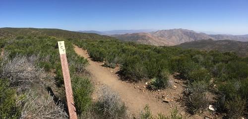 High desert hiking