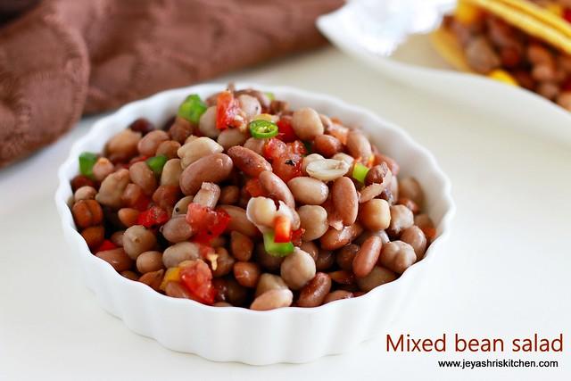 Mixed bean -salad