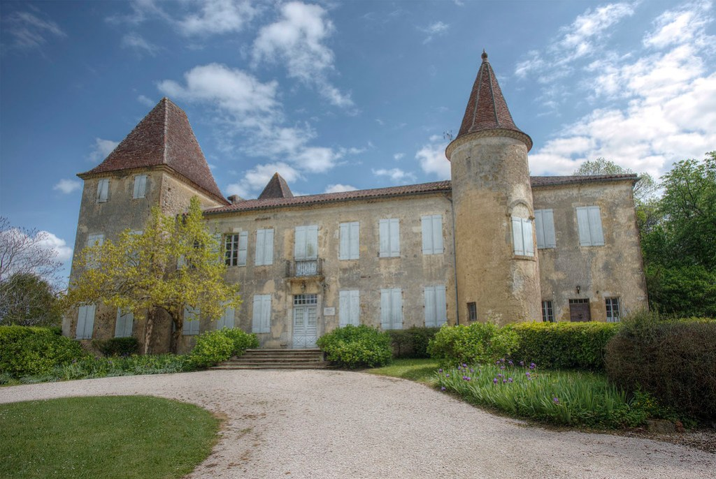 Chateau de Castelmore, Birthplace of the famous Musketeer d'Artagnan.