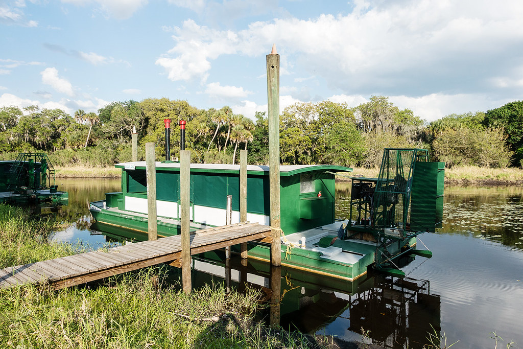 Reportedly one of the 2 largest airboats in existence.