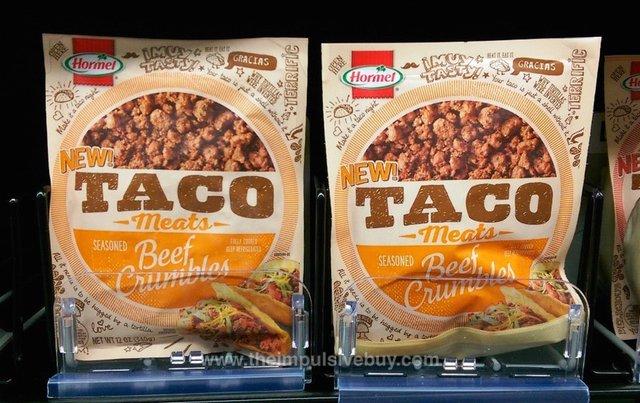 Hormel Taco Meats Beef Crumbles