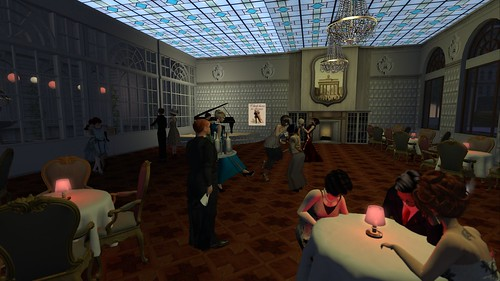 Dinner followed by tango at the Hotel Adlon in 1920s Berlin