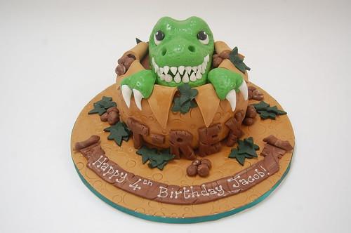 T Rex Cake Beautiful Birthday Cakes
