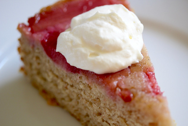 Rye & Rhubarb Cake - 48