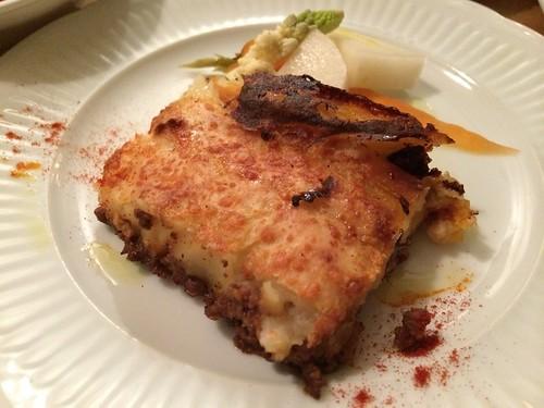 ラムひき肉とマッシュポテトのグラタン@ジッカ Jicca