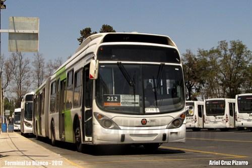 Transantiago - Subus Chile - Marcopolo Gran Viale / Volvo (BFKB35)