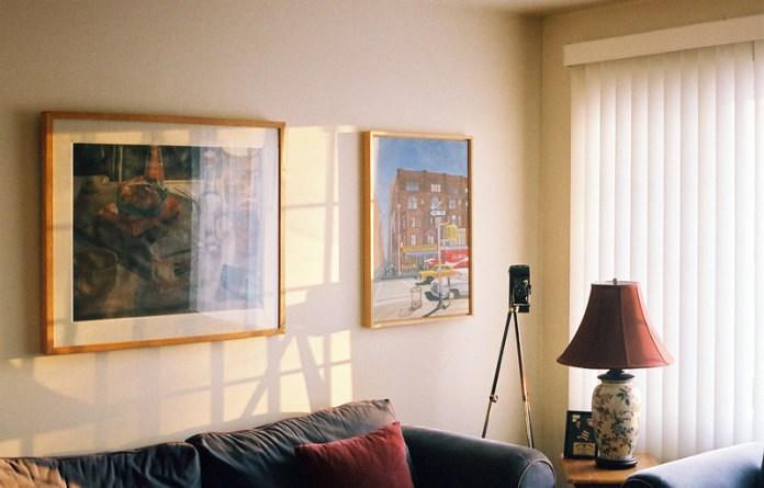 Morning living-room light
