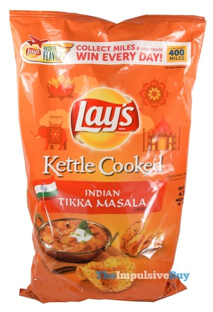 Lay's Kettle Cooked Indian Tikka Masala Potato Chips