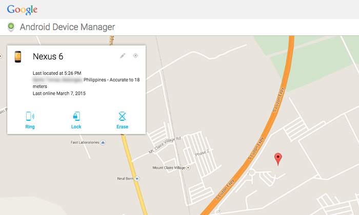 Track your lost android device with using tracking app