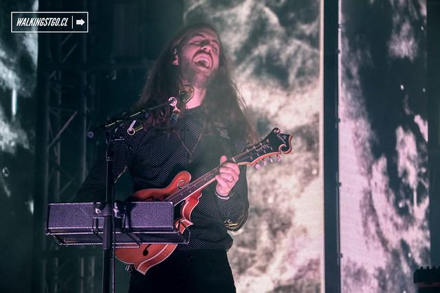 Imagine Dragons en vivo en el Movistar Arena de Santiago presentando su último disco Smoke + Mirrors -12.04.2015-