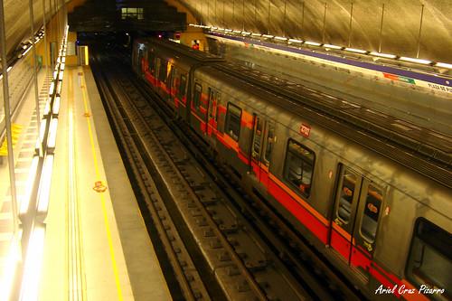 Metro de Santiago - Alstom AS2002 - Plaza de Puente Alto (Línea 4)