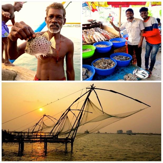 Kochi redes pesca chinas