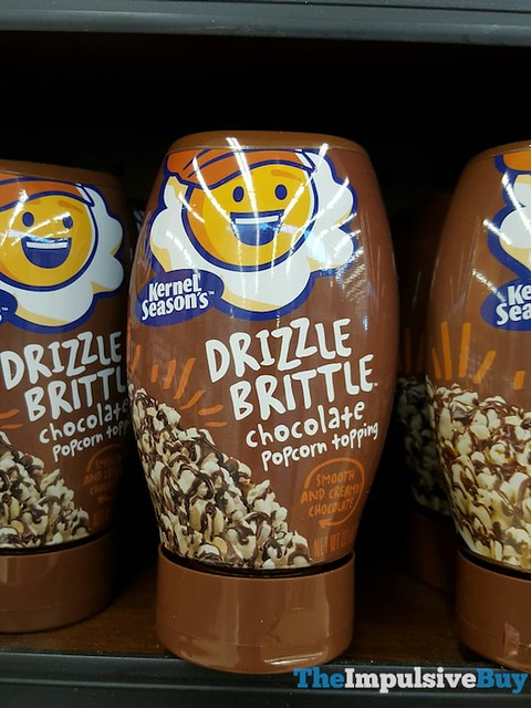 Kernel Season's Drizzle Brittle Chocolate Popcorn Topping