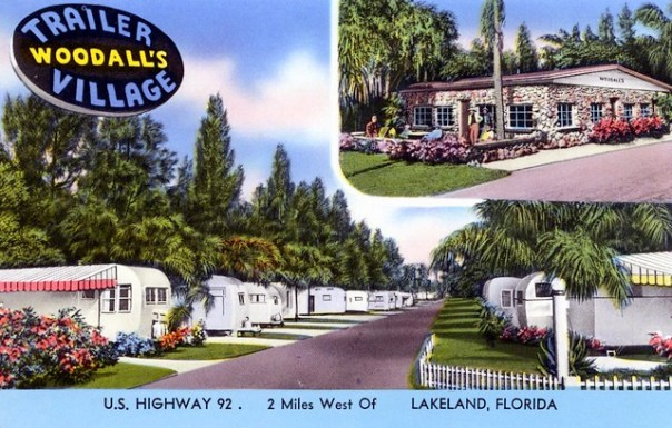 Woodall's Trailer Village - 2121 New Tampa Highway, Lakeland, Florida U.S.A. - date unknown