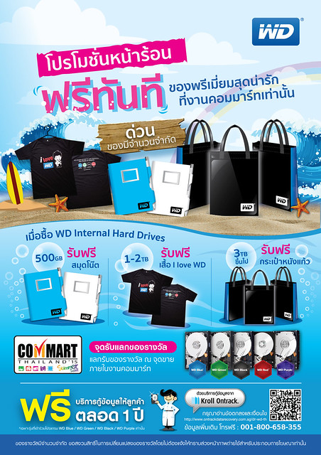 WD Internal HDD promotion