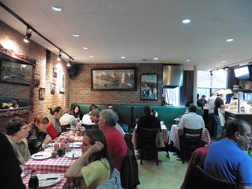 Dónde comer y gastronomía en Nueva York: Pizza en Grimaldi's.