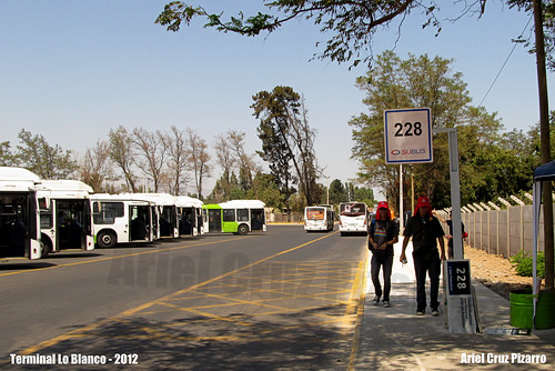 Transantiago - Terminal Lo Blanco (Subus Chile)