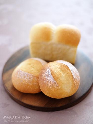 ホシノ天然酵母プチパン・ミニ食パン 20150329-DSCF9587