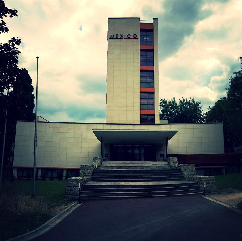 Maison du Mexique à la Cité internationale universitaire de Paris