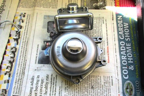 Polished Carburetor Bowl and Top