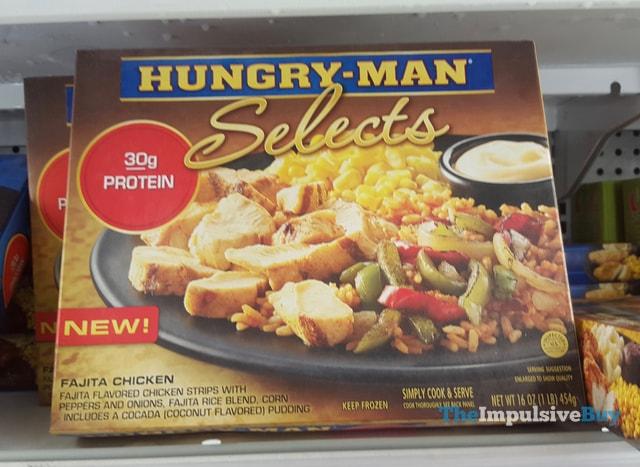 Hungry-Man Selects Fajita Chicken