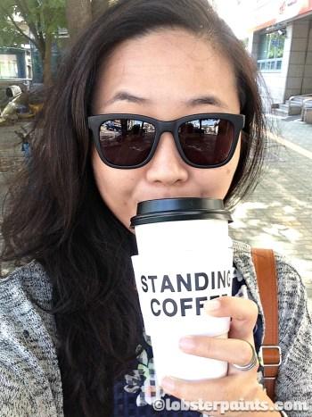 4 Oct 2014: Standing Coffee (Seodaemun Station) | Seoul, South Korea